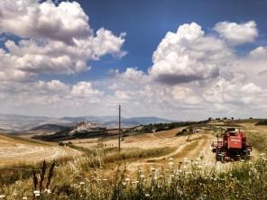 Panorama Rocchetta Sant'Antonio dal versante irpino