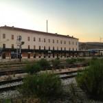 La stazione ferroviaria di Rocchetta Scalo
