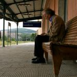 Nicola di Pinto in una delle scene del film Ultima Fermata
