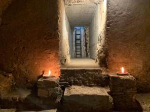 corridoio cripta principale